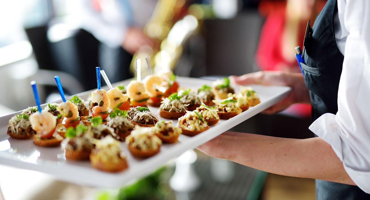 Servicios de catering para eventos corporativos
